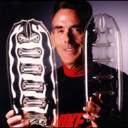 Отец технологии «Nike Air» - инженер-аэронавт Фрэнк Руди