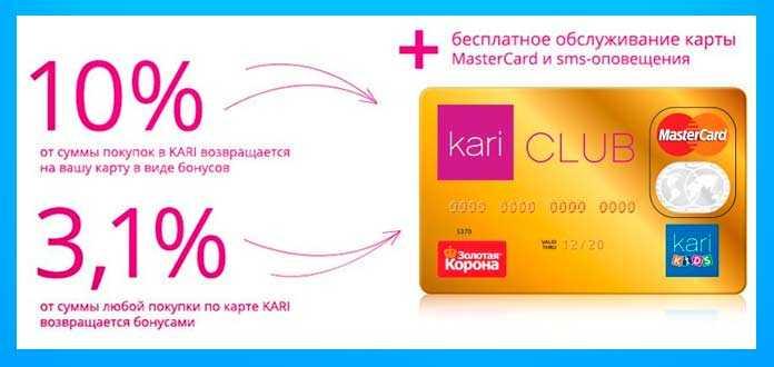 Карточка Кари