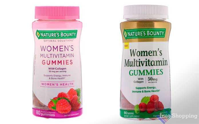 Женские жевательные мультивитамины
