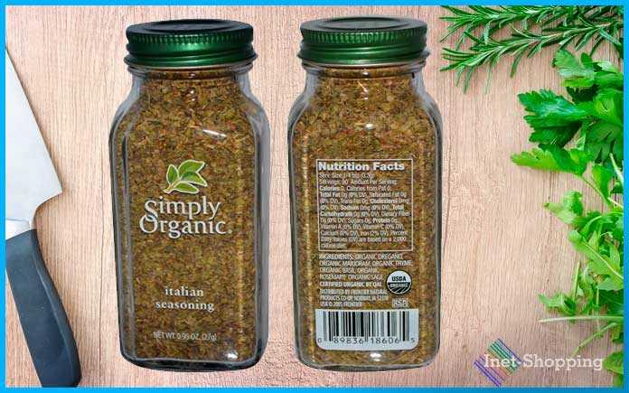 Итальянская приправа Simply Organic