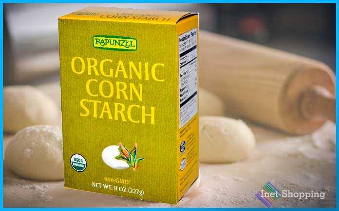 купить на iherb Органический кукурузный крахмал