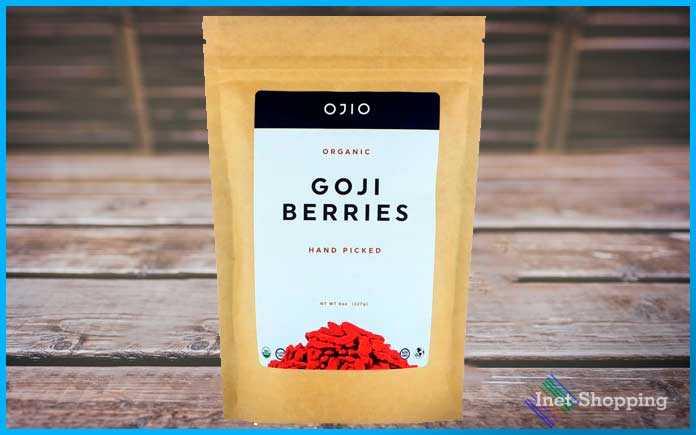 купить на iherb Сушеные ягоды годжи