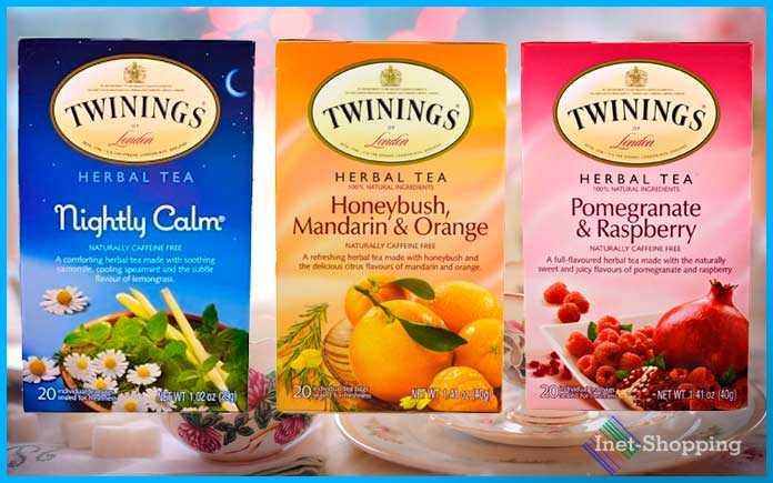 Травяной чай Twinings