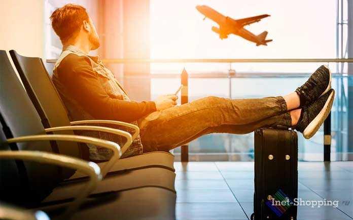 В аэропорту с электронным билетом