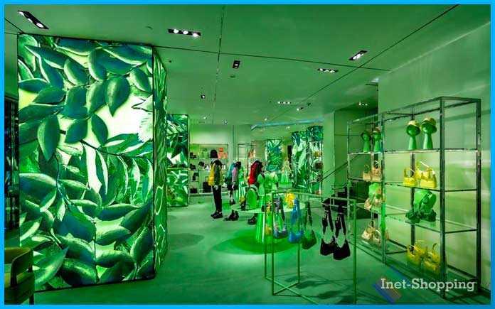Зеленый магазин