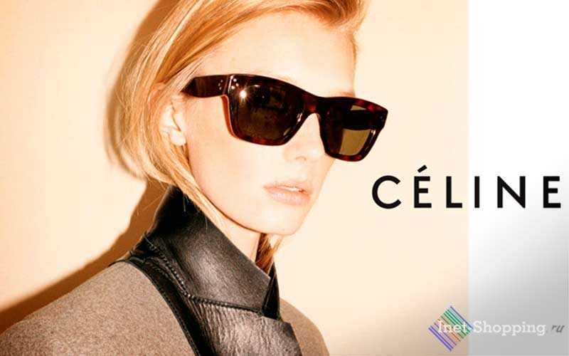 Celine бренд очков