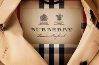 История Burberry