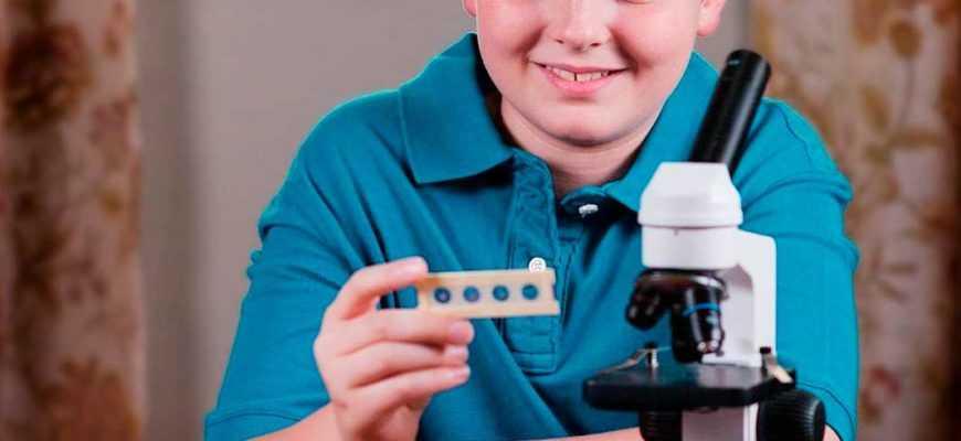 Лучшие микроскопы для малышей